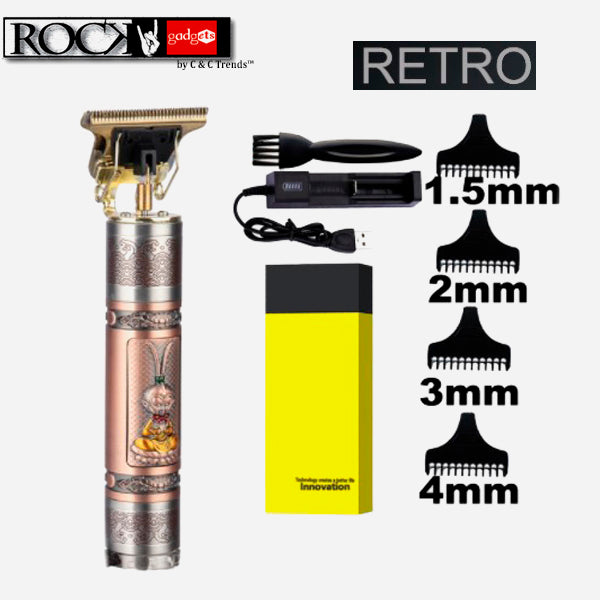 Retro Electric Hair Clipper for Men 12