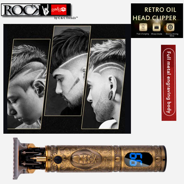 Retro Electric Hair Clipper for Men 2