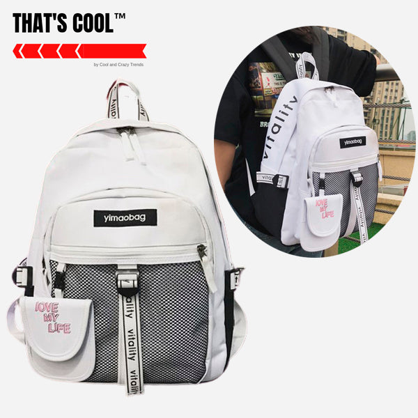 Japanese Style High School Backpack 2