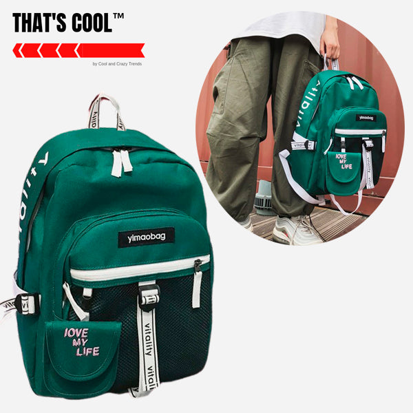 Japanese Style High School Backpack 1