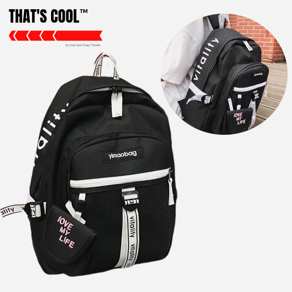Japanese Style High School Backpack 4