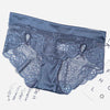 Seamless Lace Satin Boyshort