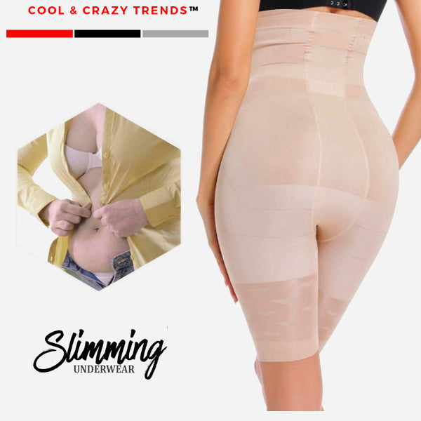 Seamless Slimming Tummy and Thigh Shapewear