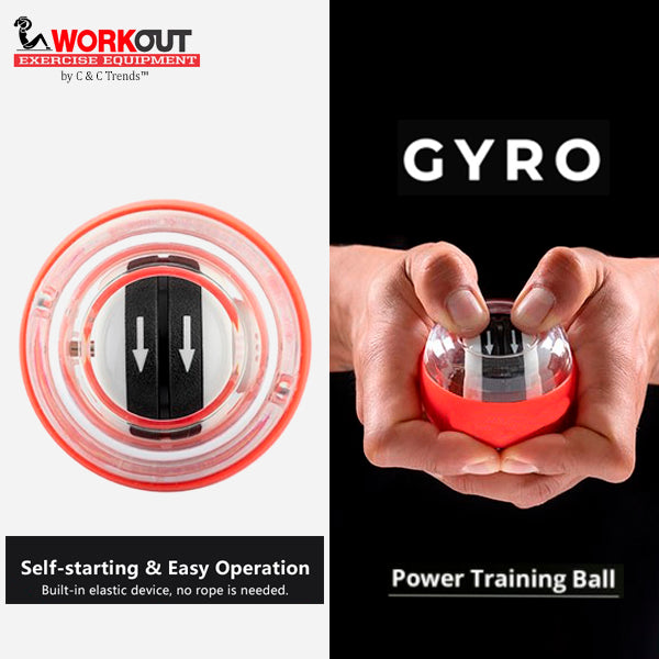 Self-starting Gyro Wrist Exercise Ball 4