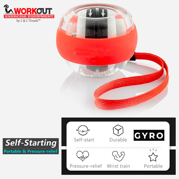 Self-starting Gyro Wrist Exercise Ball 6