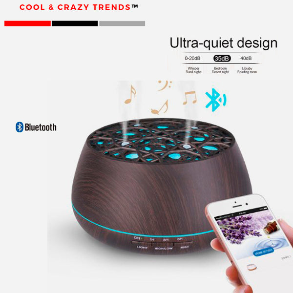Speaker and LED light Aromatherapy Diffuser