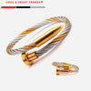 Sport Wire-cable Bullet Men Bracelet