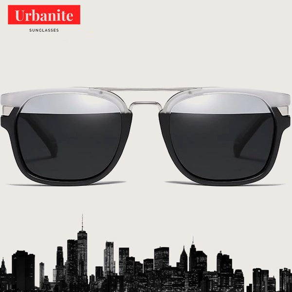 Sporty Polarized Two-tones Sunglasses