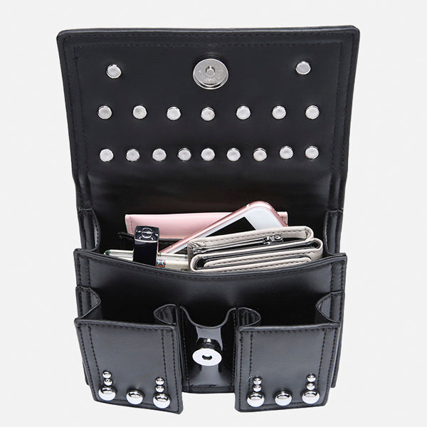 Stylish Rivet Multipurpose Waist Bag