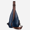 Theft proof Rotatable Button Men Shoulder Bags