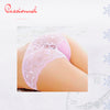Transparent Panty Embroidery Flower of Passion