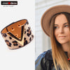 Trendy Leather Women Cuff Bracelet 4a