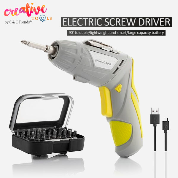 USB Charging Multi-position Cordless Electric Screwdriver 10