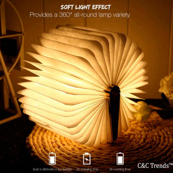 USB Folding Book Lamp