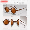 Vintage Clock Design Round Sunglasses 10