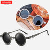 Vintage Clock Design Round Sunglasses 1