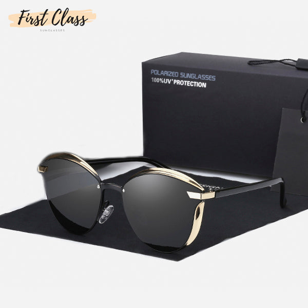 Vintage Style Mirror Polarized Sunglasses 4a