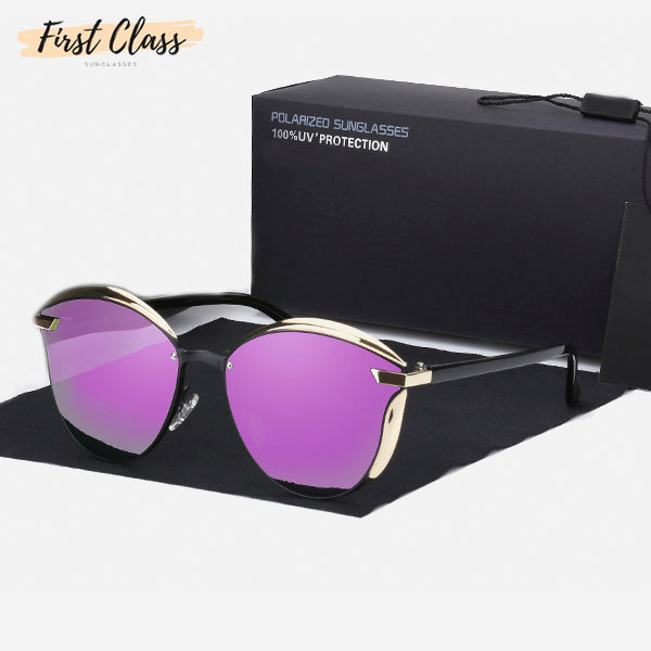 Vintage Style Mirror Polarized Sunglasses 6a