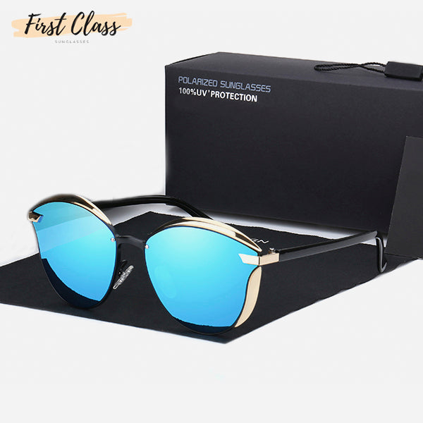 Vintage Style Mirror Polarized Sunglasses 8a
