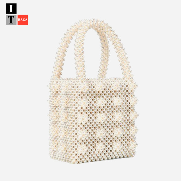 Vintage Beaded Box Bag