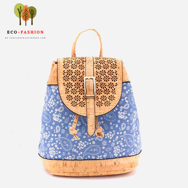 Vintage Eco-friendly Cork Backpack