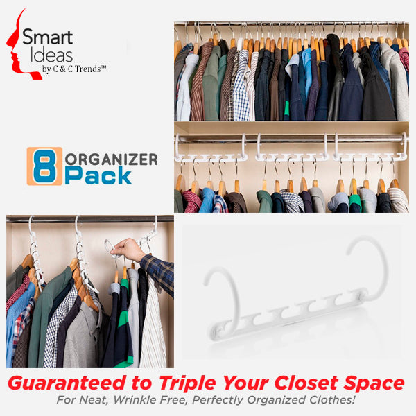 Clever Closet Organization Full Kit 5