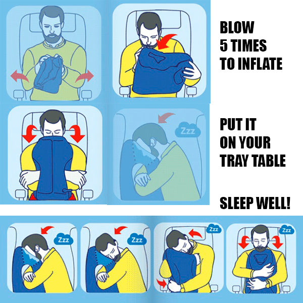 The Best Innovative Pillow for Travelling