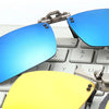 Light Polarized Clip On Sunglasses + N. Vision (2 x 1)