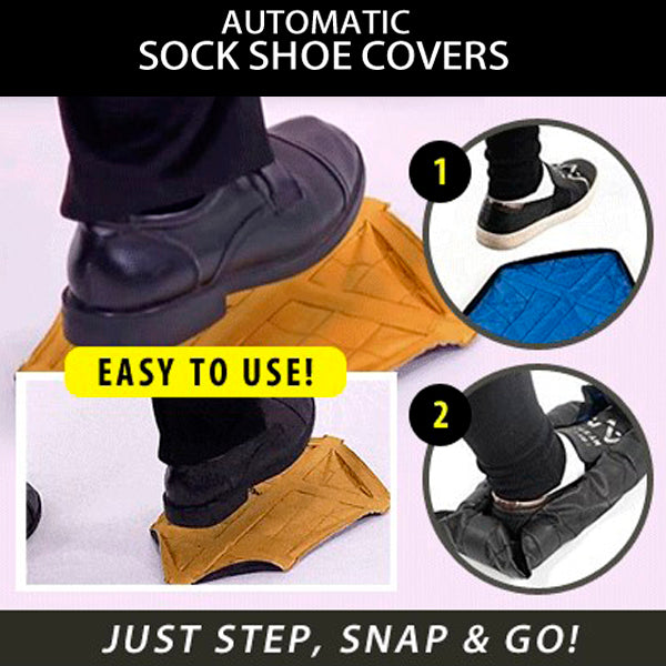Fast Reusable Automatic Shoe Cover 9
