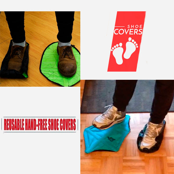 Fast Reusable Automatic Shoe Cover 13