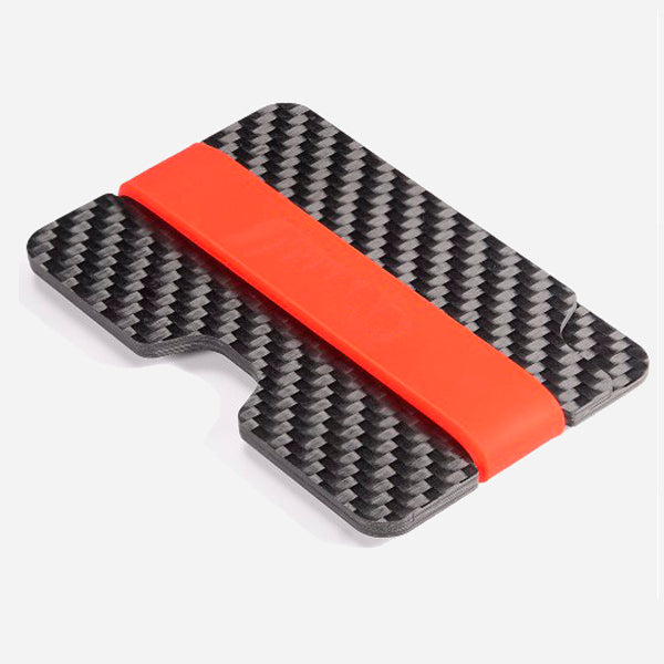 3K Carbon Fiber Band Credit Card Holder Wallet