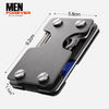 Multi-functional Metal Credit Card Wallet & Key Holder 9b