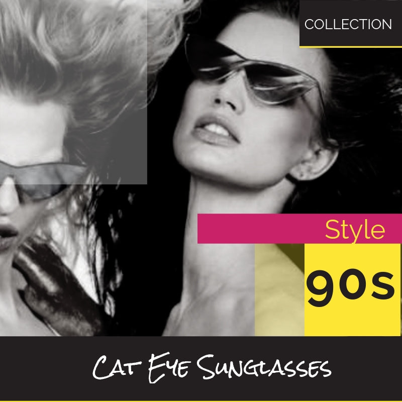 90s Style Cat Eye Slim Sunglasses