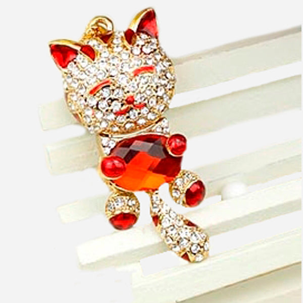 Lovely Cat Jewelry Usb Flash Drive 2.0