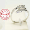 Romantic Sterling Silver Cupid Lovers Ring