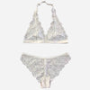 Transparent Deep V Set