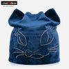Diamond Cat Velvet Beanie 9