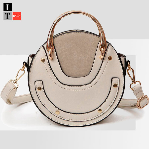 Equestrian Small Round Cross-body Bag