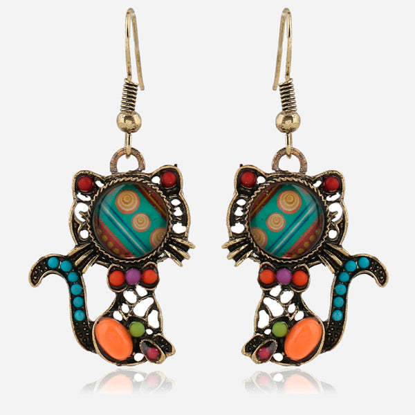 Cute Cat Ethnic Set