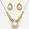 Fish Pearl Eye Jewelry Set