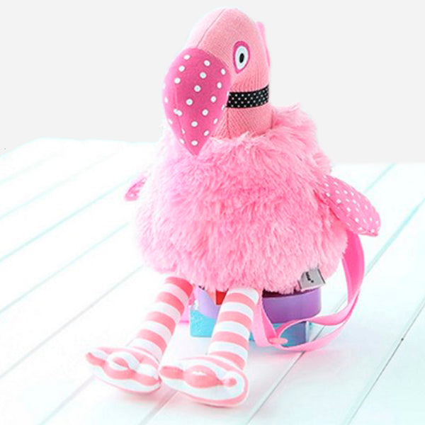 Pink Flamingo Fashion Backpack