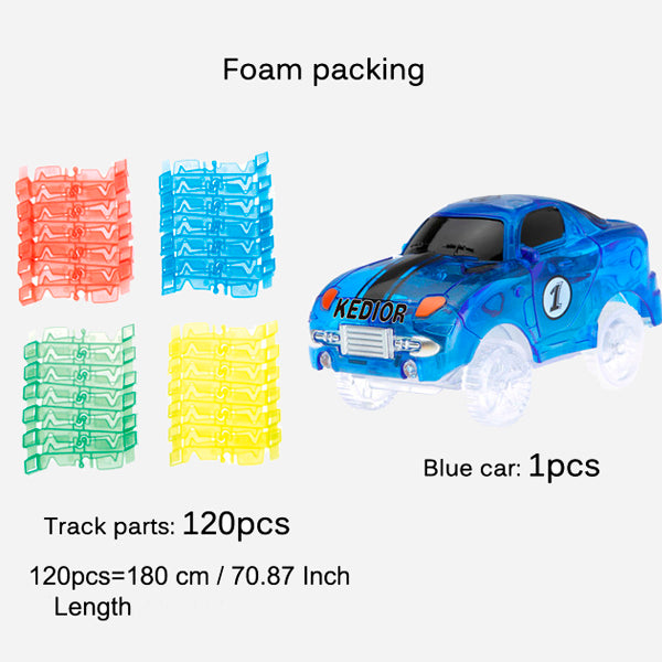 Flexible Glowing Racing Track