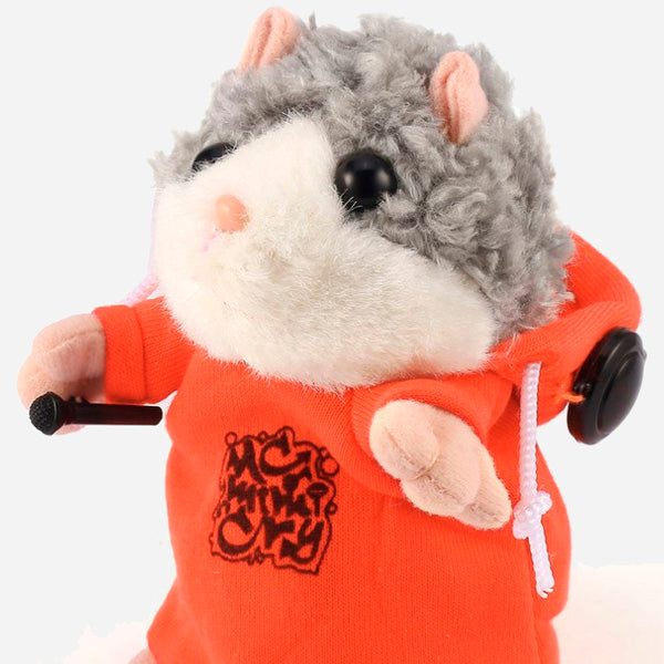 Interactive Plush Hamster Toys