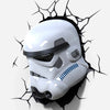 LED Wall lamp 3D Star Wars