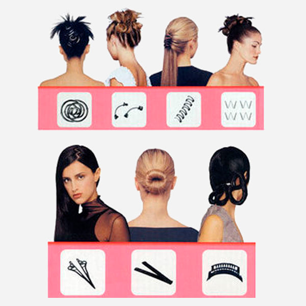 magic hair makeover kit cool and crazy trends