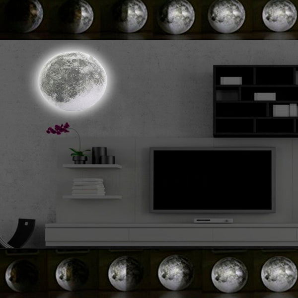Mysterious Moon Phases Lamp