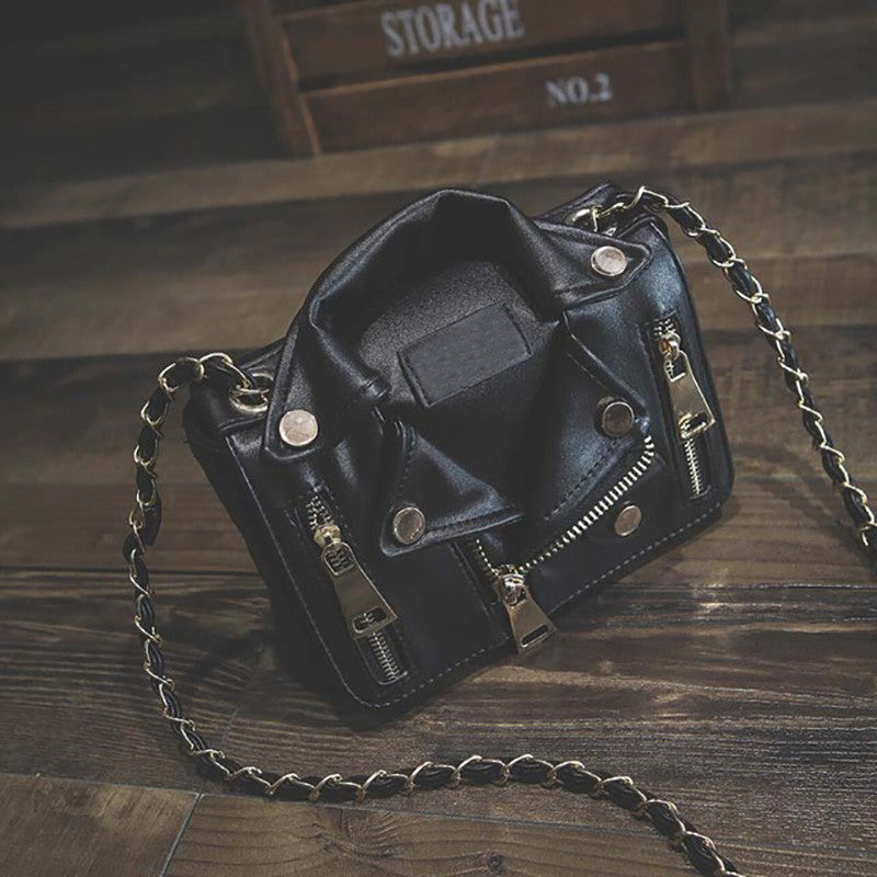 Chain Motorcycle Messenger Bag