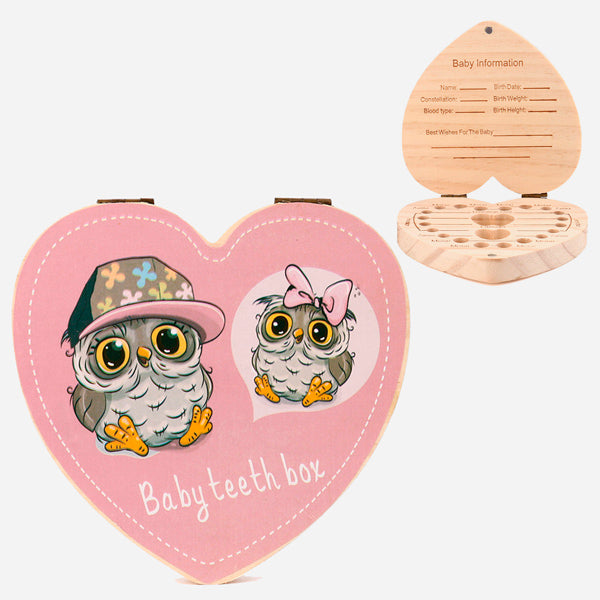 Teeth Box Organizer Lovely Owl