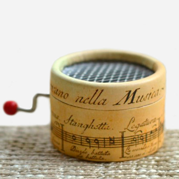Hand-cranked Vintage Style Music Box
