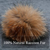 Rabbit Fur PomPom Beret
